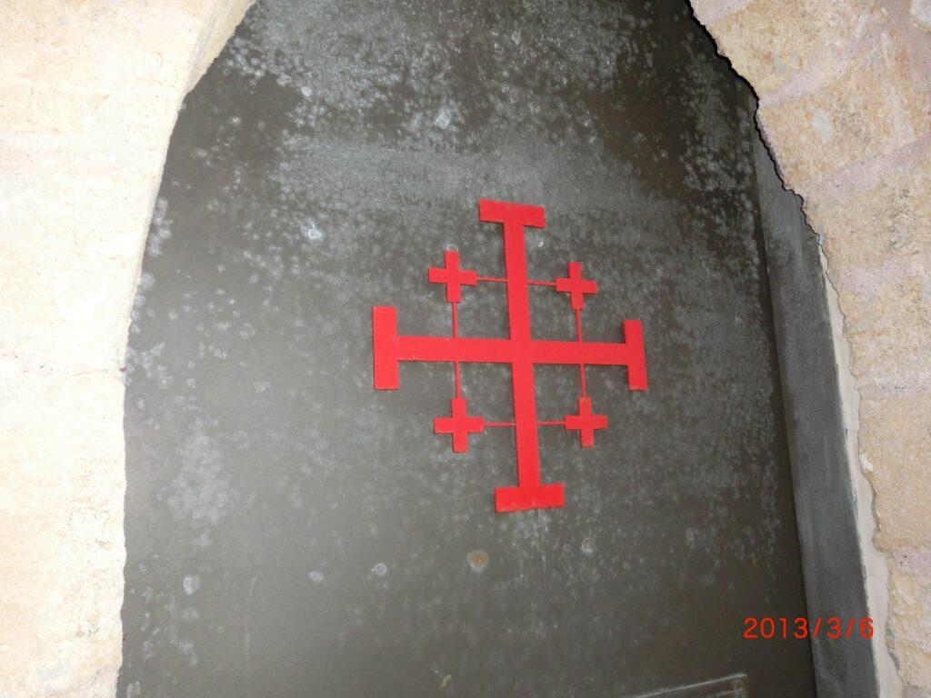 十字軍のシンボルだったエルサレム十字