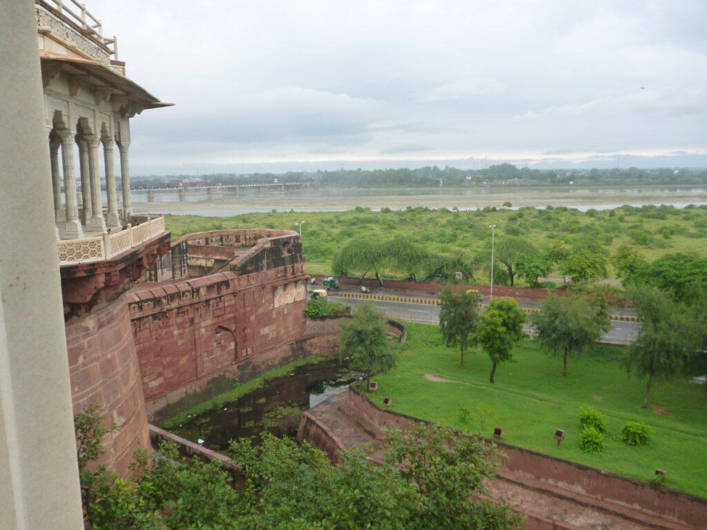 シャー・ジャハーンが幽閉されていた囚われの城