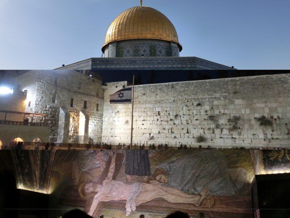 エルサレムに集中している聖地