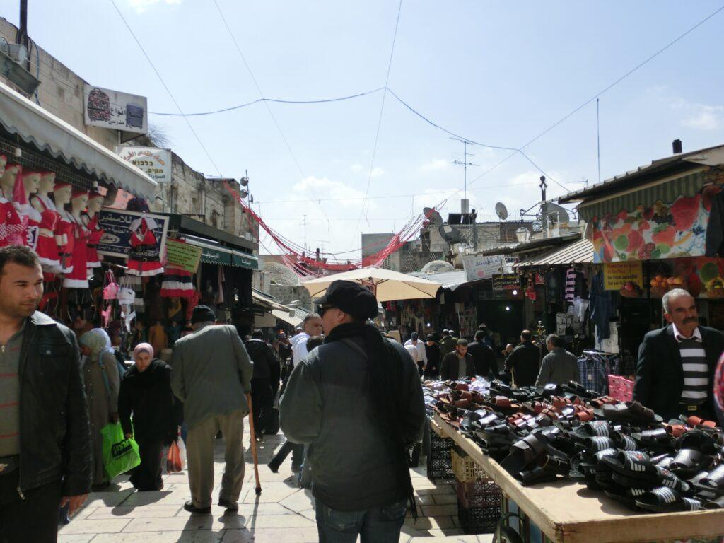エルサレム旧市街「ムスリム地区」
