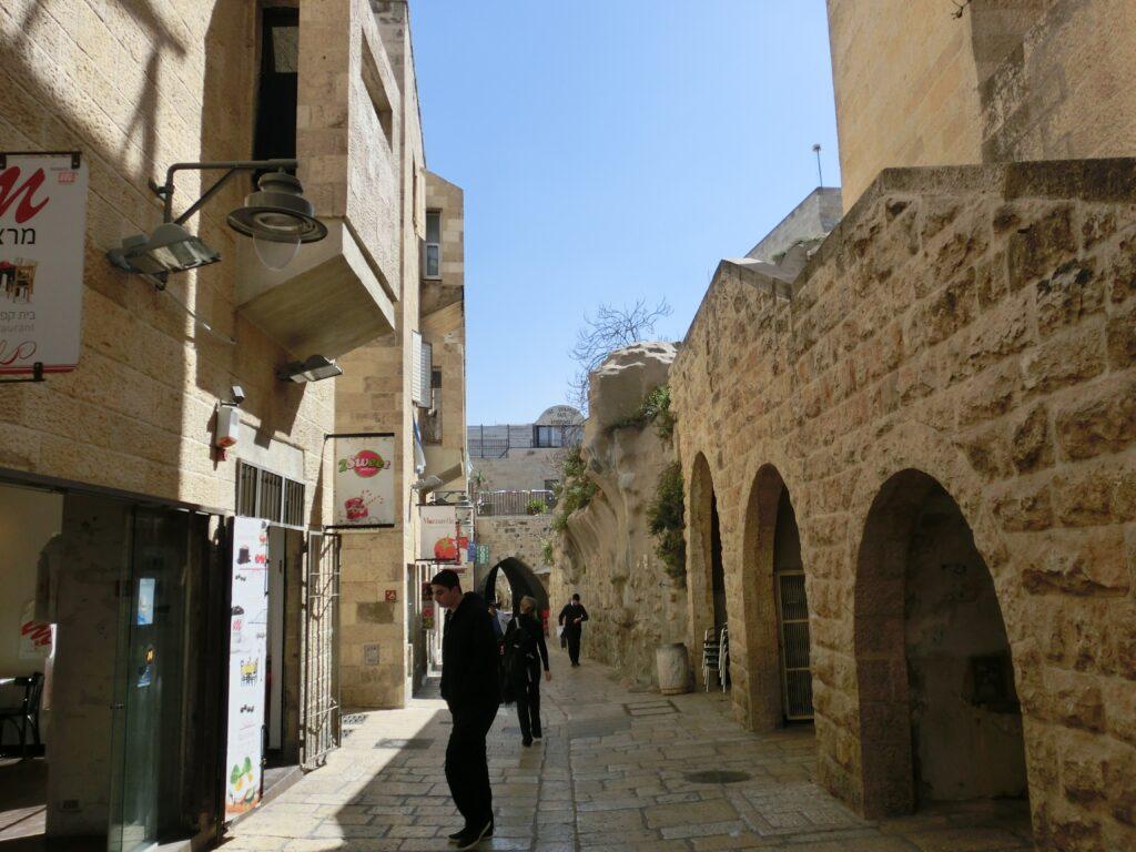 エルサレム旧市街「ユダヤ人地区」