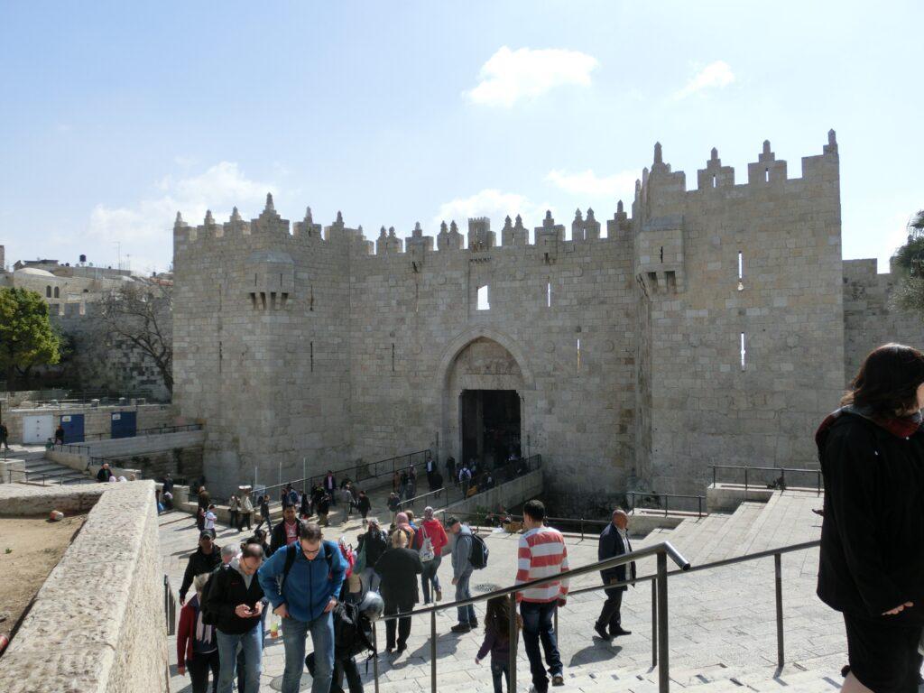 エルサレム旧市街「ダマスカス門」
