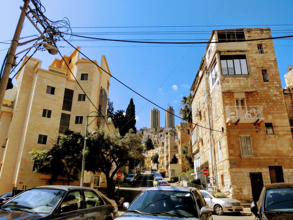 ハイファ市街地