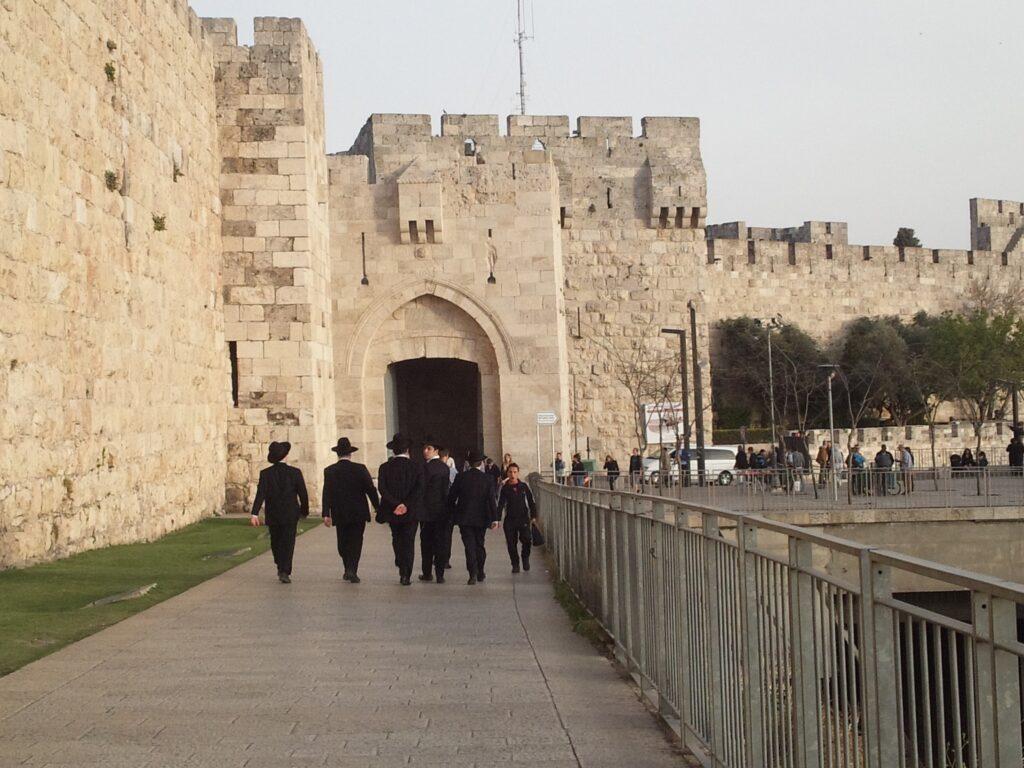 エルサレム旧市街「ヤッフォ門」