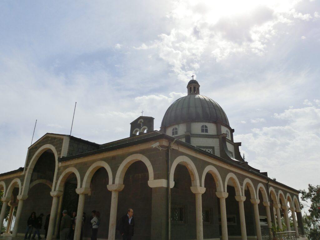 山上の垂訓教会外部
