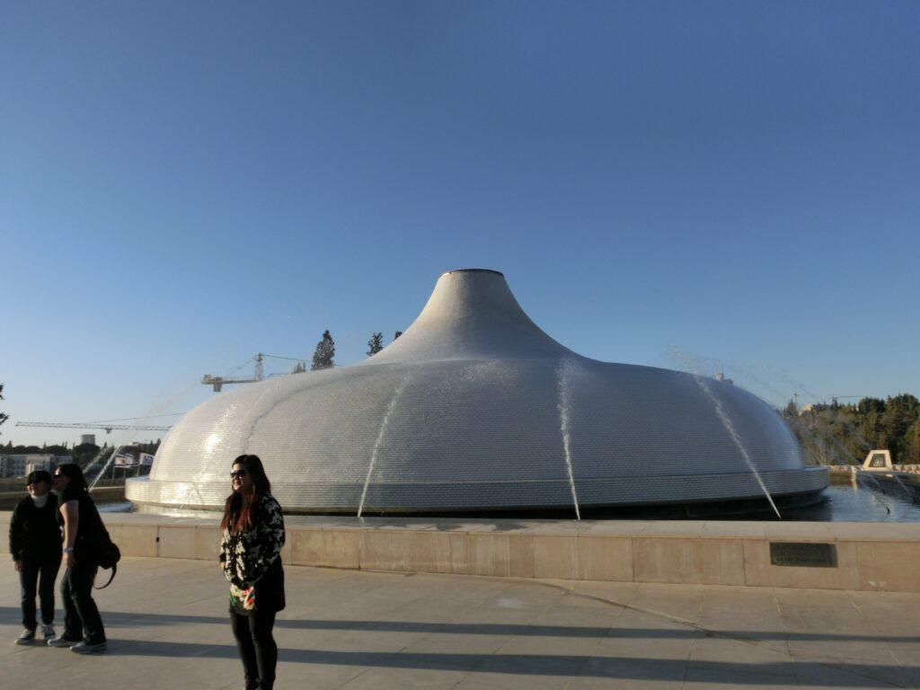 死海文書の原本が展示されているイスラエル博物館。