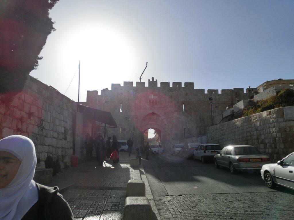 エルサレム旧市街「聖スパテノ門」