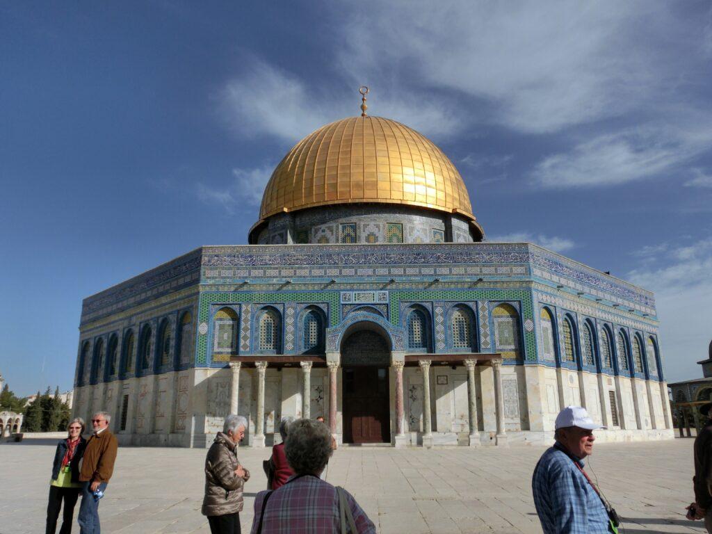 イスラム教第3の聖地「岩のドーム」