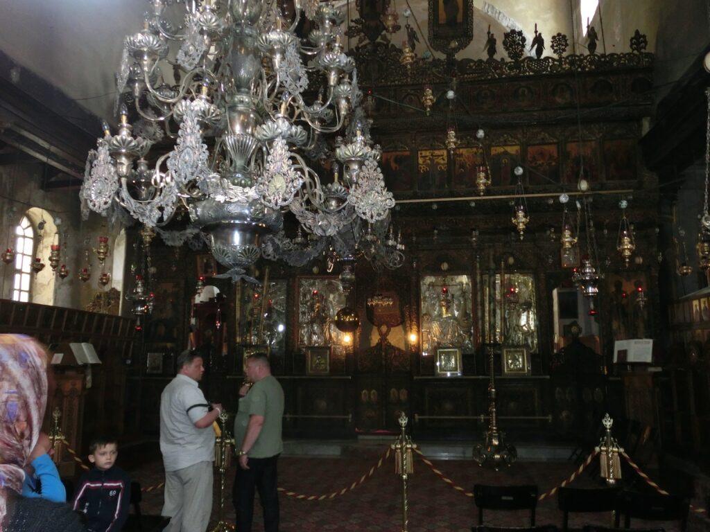聖誕教会の祭壇。