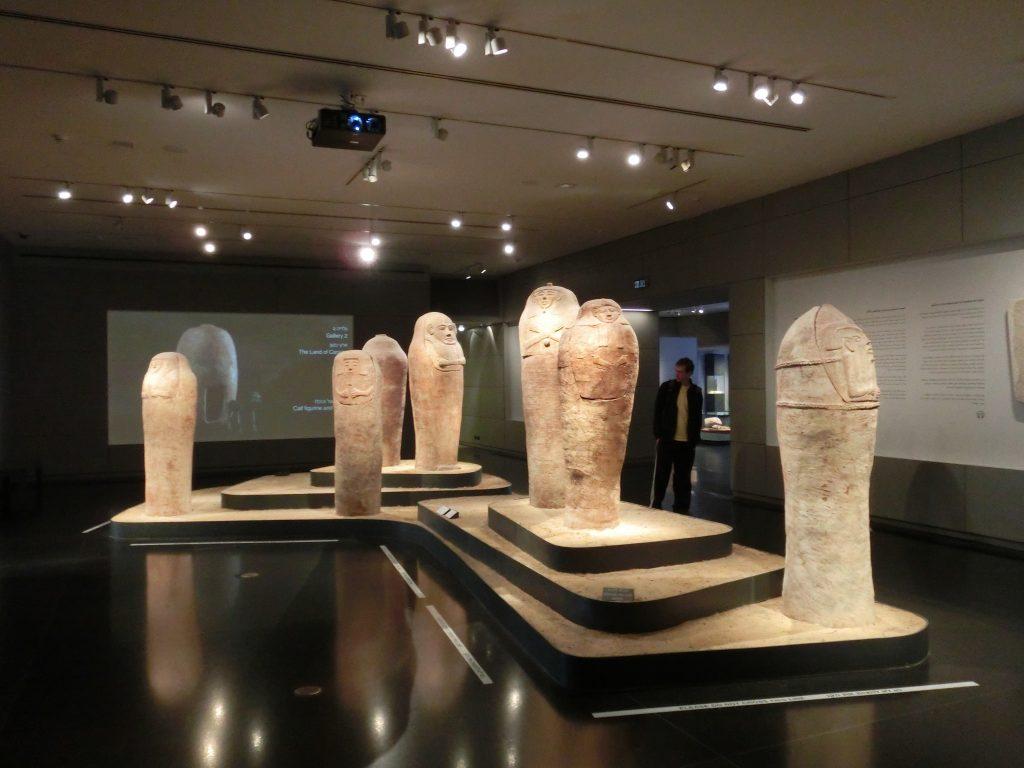 エジプトのミイラの棺の模型