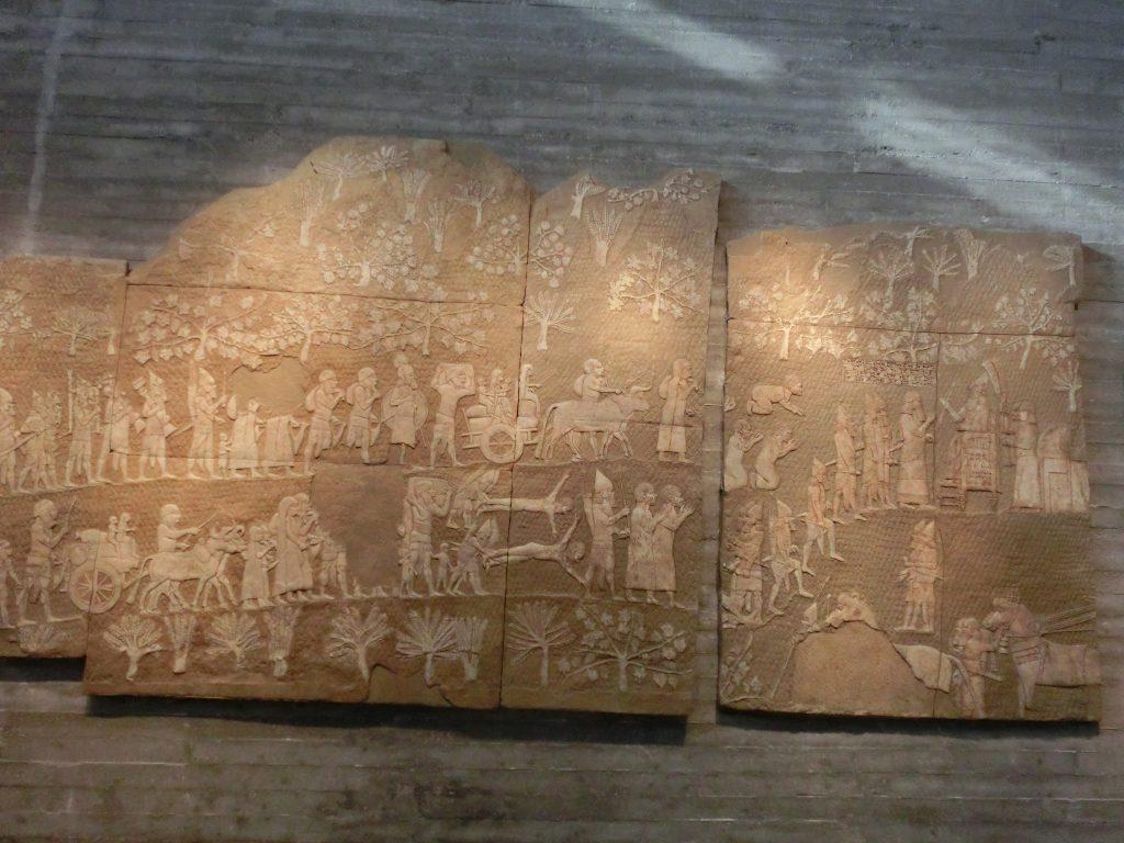 古代エジプトの石版